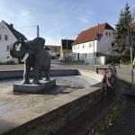 Der Elefant in Kühren